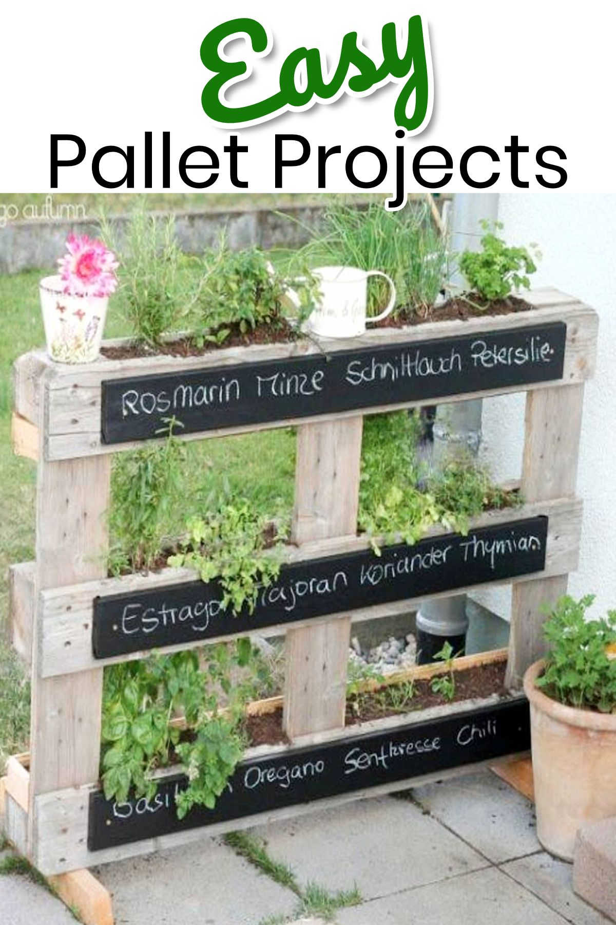 30+ Quick and Easy to Build Wood Pallet Projects ⋆ Home ...  Easy Wood Projects From Pallets