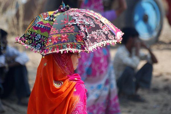 A tourist in Pushkar