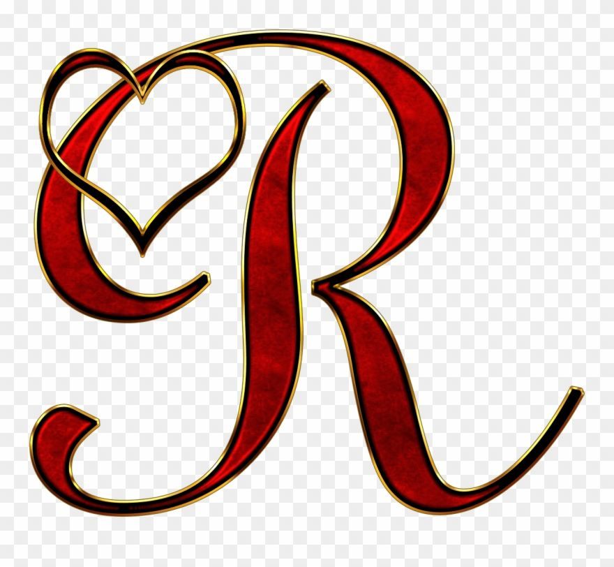 Download Hd Valentine Capital Letter R Transparent Png Stickpng R Letter Clipart And Use The Free Clipart For Your Creative Clip Art Free Clip Art Lettering