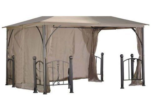 DC America GOPR58-BB-RS 12 ft. x12 ft. Replacement Privacy-Wind Shade-Rome Post Gazebo- Polyester Material by DC America. $77.38