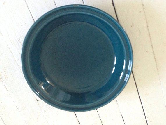 Fiesta Ware Teal Pie Plate & Fiesta Ware Teal Pie Plate | Vintage china | Pinterest | Fiesta ware ...