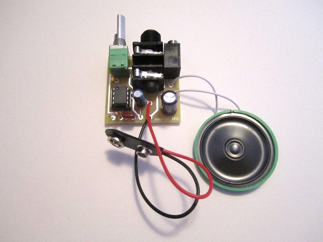 assembled kit portable guitar amp w speaker 10x gain etsy favorites guitar amp. Black Bedroom Furniture Sets. Home Design Ideas