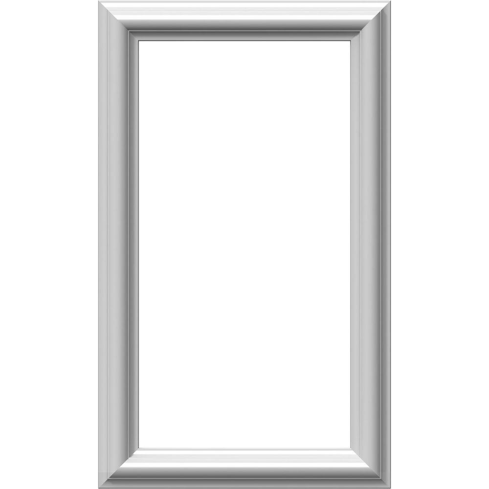 Ekena Millwork 12 In W X 20 In H X 1 2 In P Ashford Molded Classic Wainscot Wall Panel Pnl12x20as 01 Wainscoting Wall Panel Molding Decorative Wall Panels
