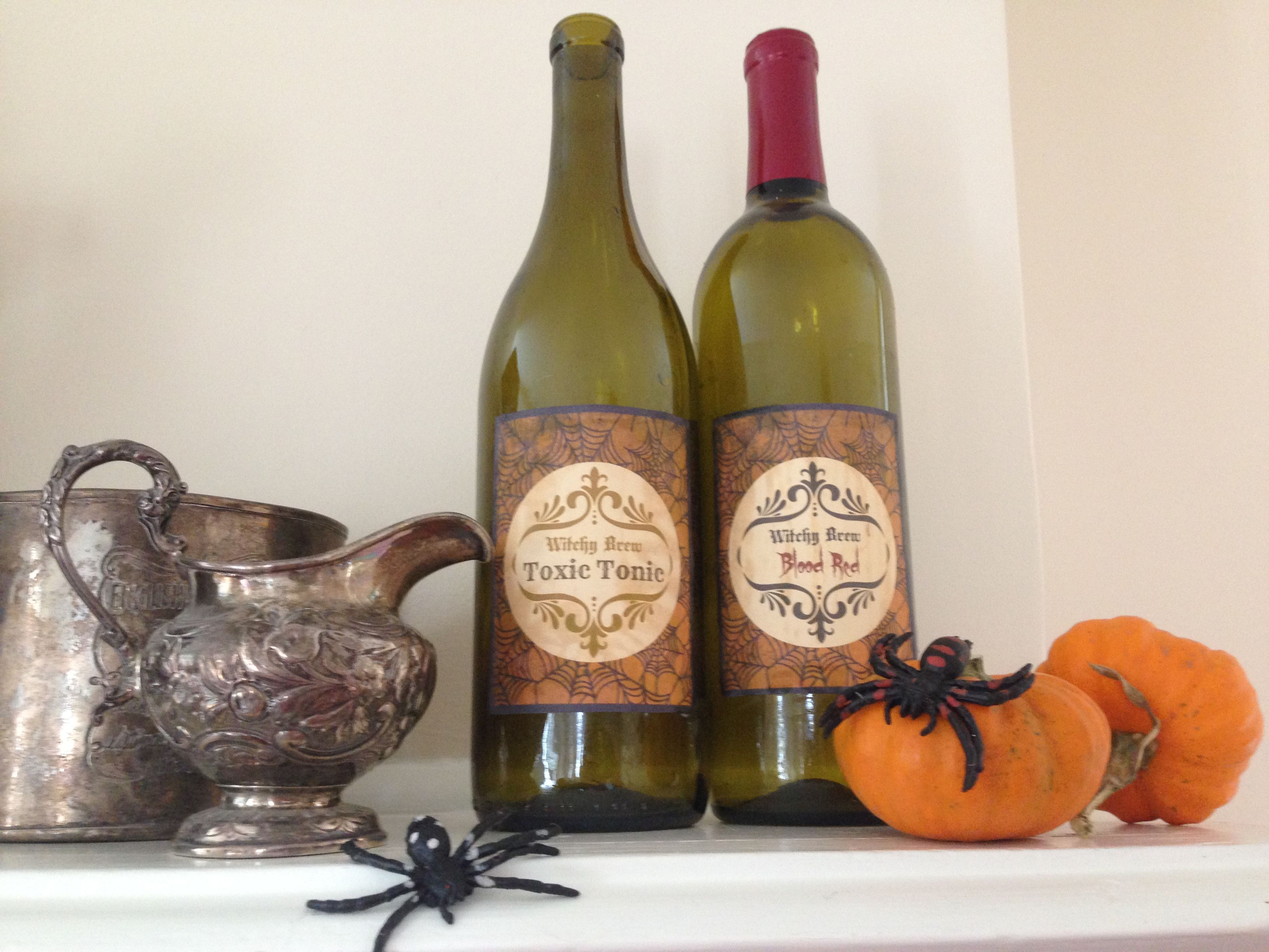 Ideas For Decorating Wine Bottles Enjoy Fall With Creative Simple Wine Bottle Crafts 1  Holidays