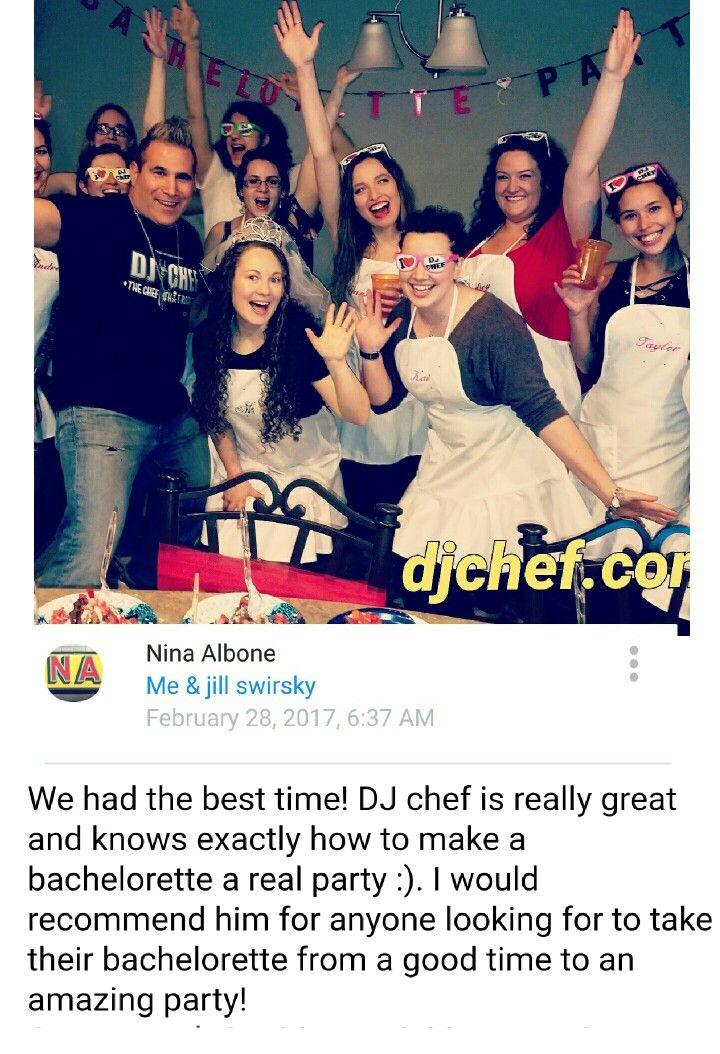 Dj Chef Bachelorette Party Idea Hamptons Long Island Montauk Nj Connecticut Djchef Com Bride Bridal Shower Cooking Class Party Bachelorette Bachelorette Party