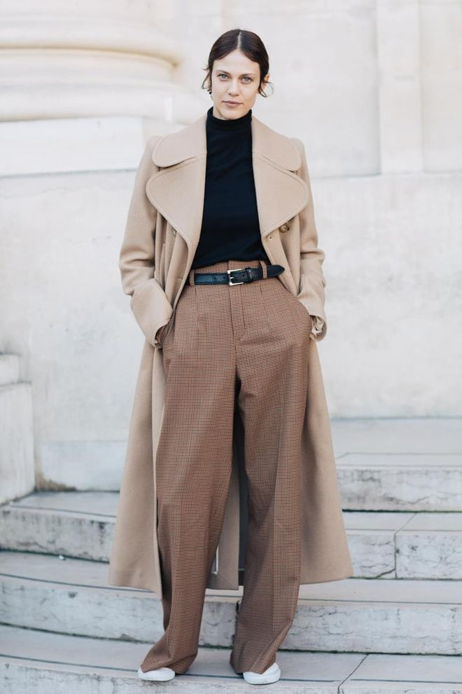 Image result for beige color street style 2017