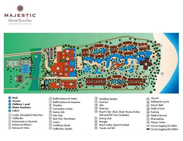 hard rock punta cana resort map pdf