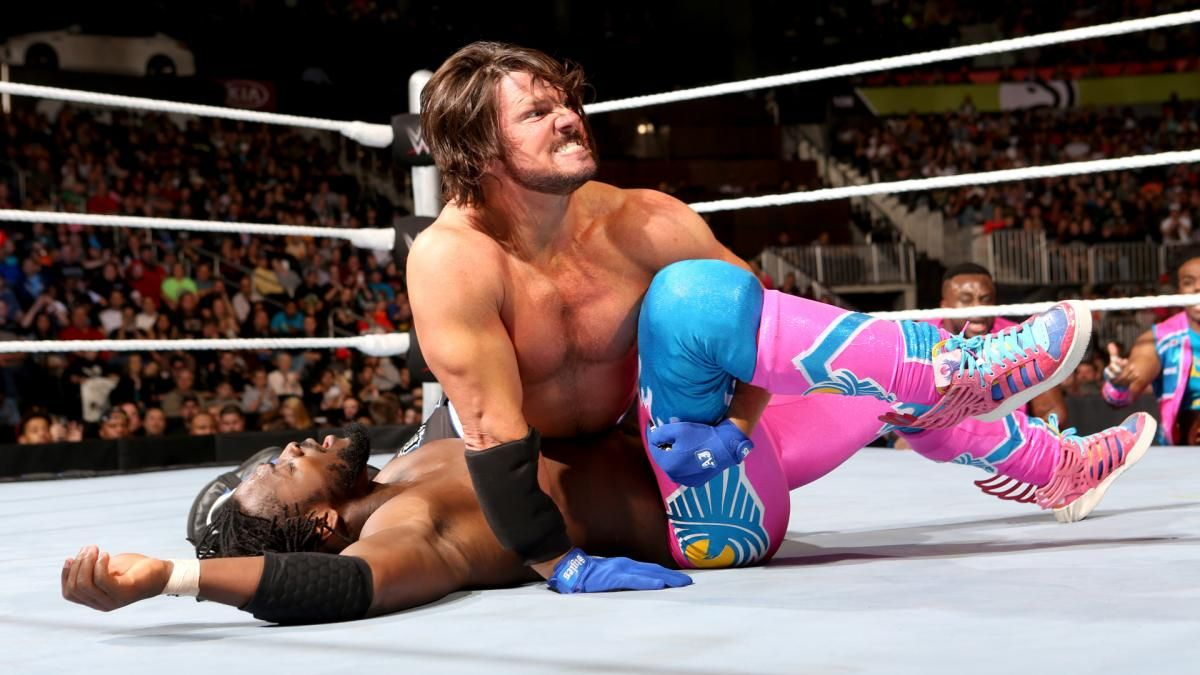 SmackDown 3/3/16: AJ Styles vs. Kofi Kingston