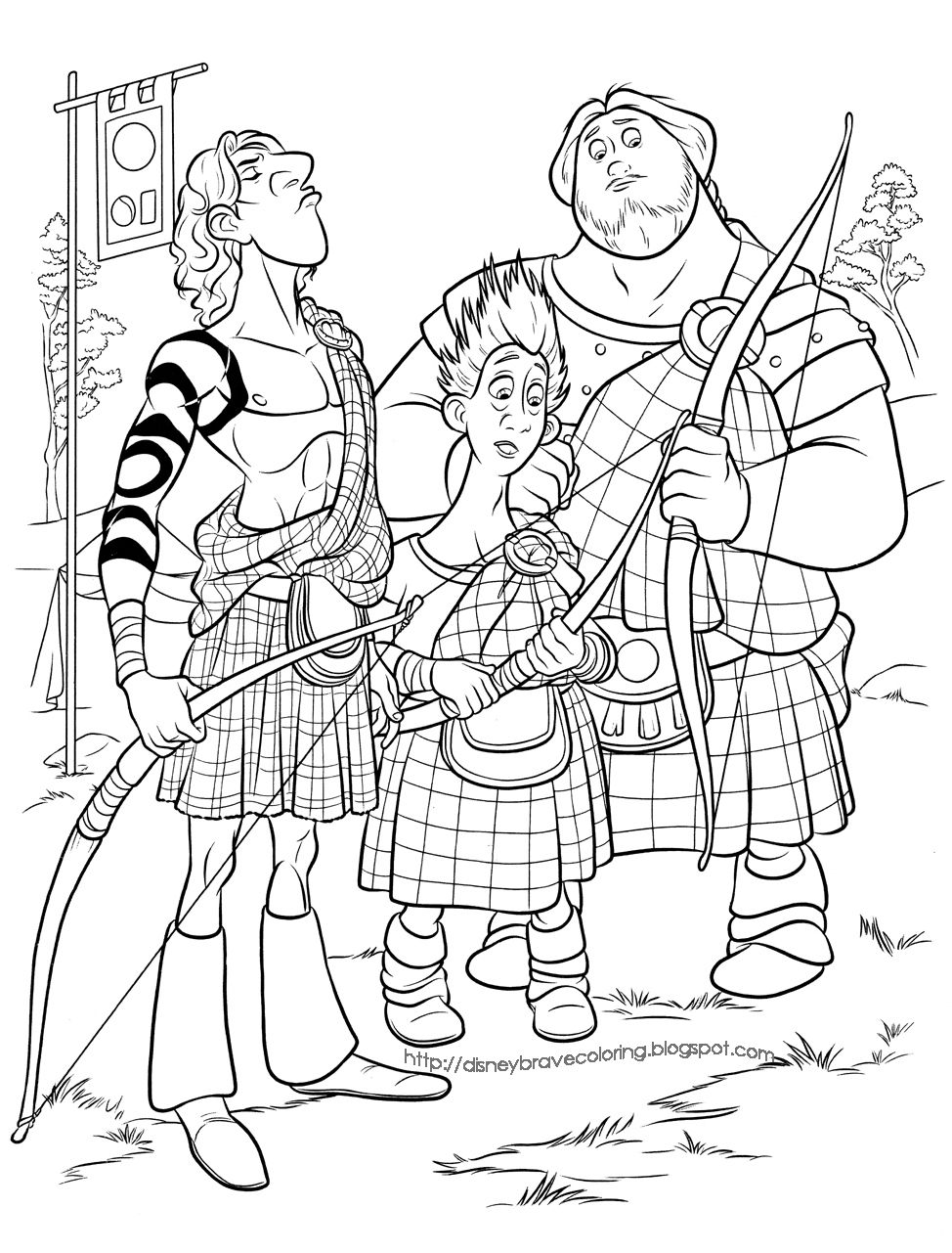 Brave Merida Coloring Pages Disney Coloring Pages Cartoon Coloring Pages Coloring Books