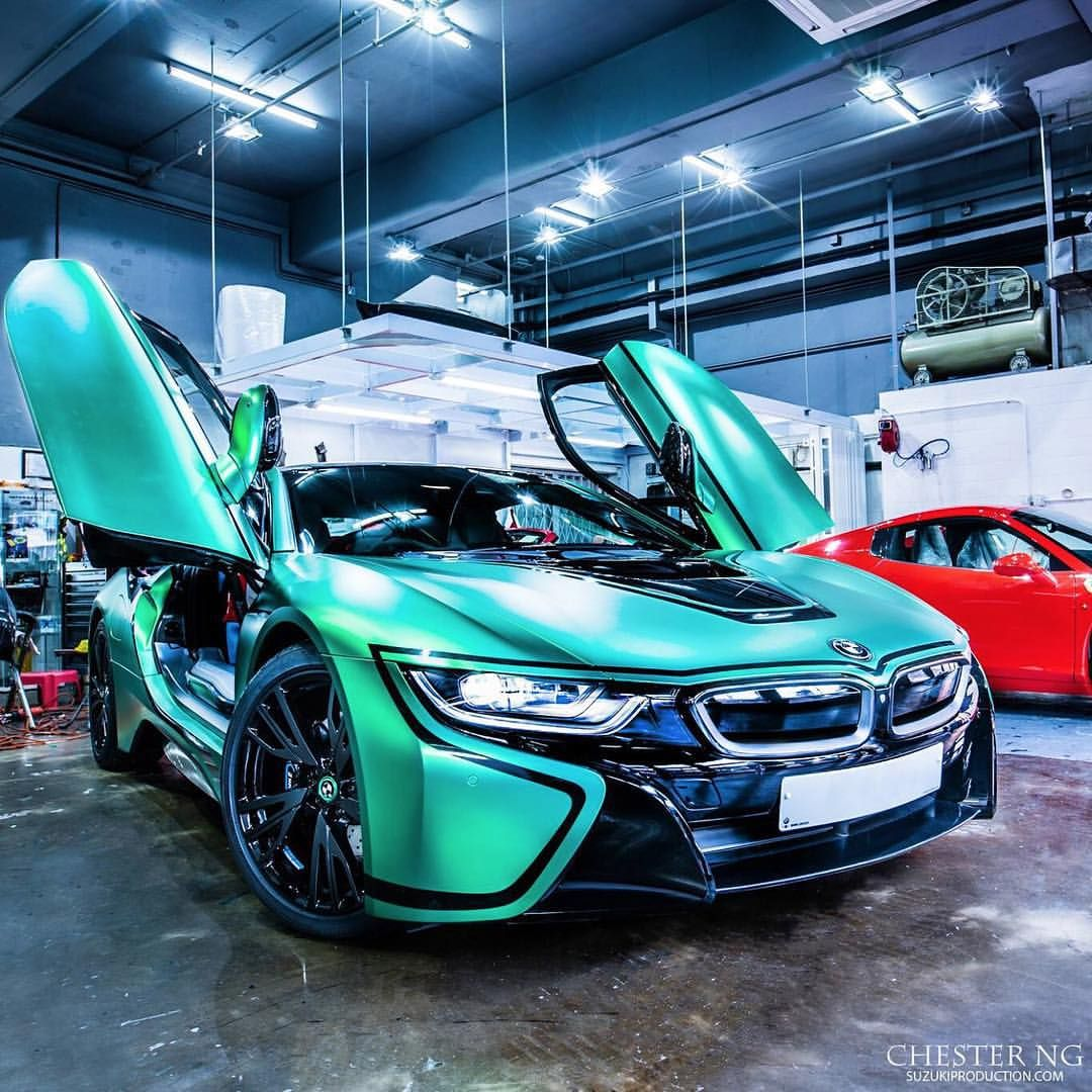 Bmw I8: BMW I8 For All Tuning Lovers: Www.tuningcult.com