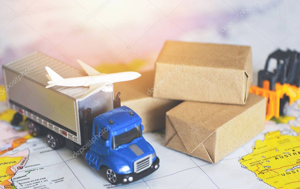 Logistics transport import export shipping service