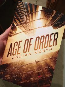 Fan of dystopian novels? How about a brand new book, by newcomer (by master story teller) Julian North Age of Order - Book Reveal! Just released today, it's one I'm having trouble putting down. Available in paperback or Kindle (and is included with Kindle Unlimited). If you liked Hunger Games or Divergent, this is a title you need to check out. http://www.sandratwp.com/age-order-book-reveal/