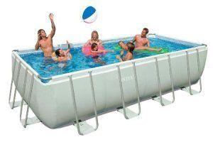 Intex Ultra Frame Above Ground Pool Rectangular Pool Rectangular Swimming Pools Rectangle Swimming Pools