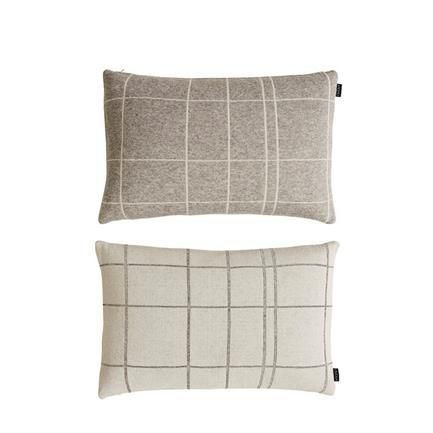 Square sofapude, hvid/grå og grå/hvid, OYOY