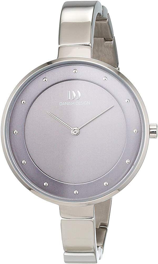 Danish Design Damen Analog Quarz Uhr mit Titan Armband