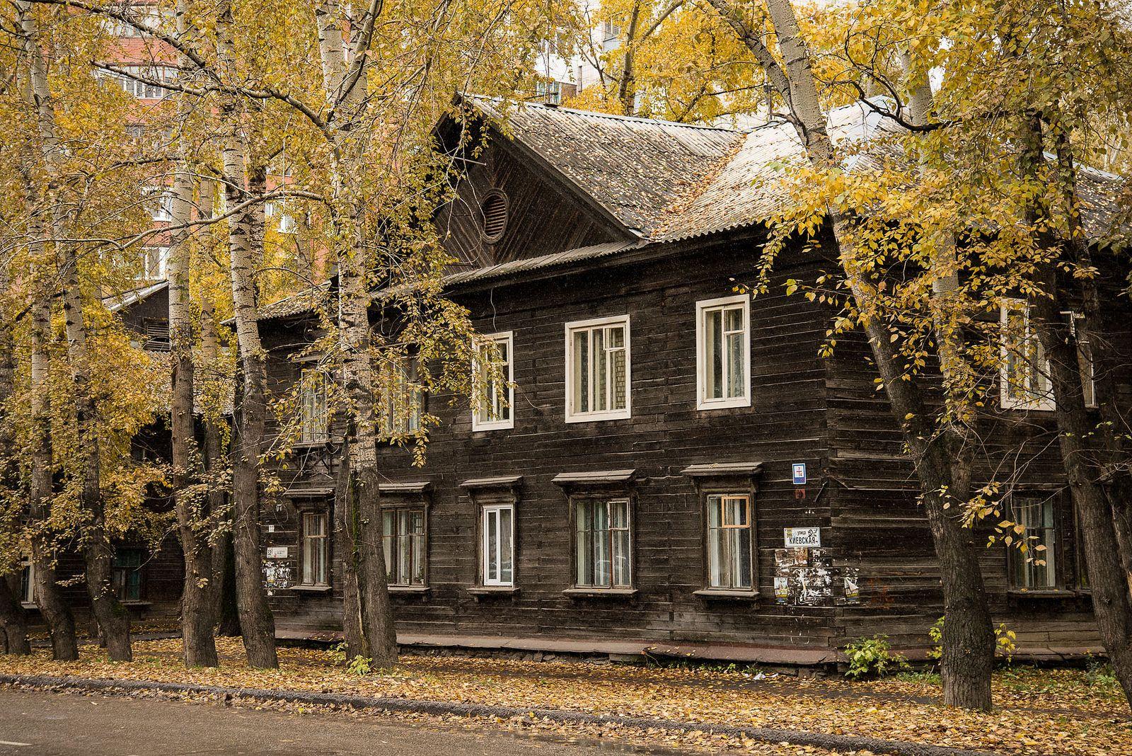 Wooden house / Tomsk / Siberia / 04.10.2013