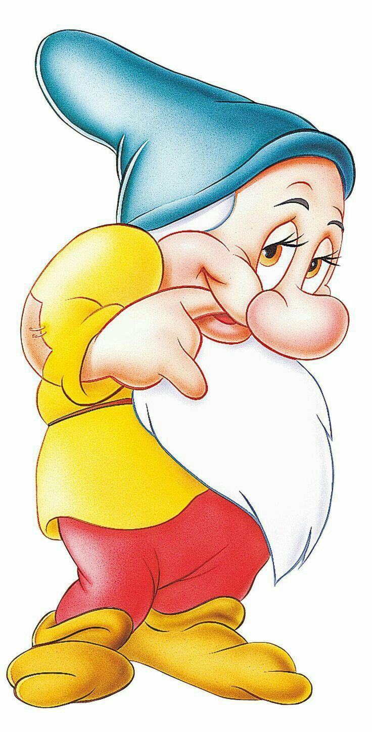 Enano 134 Dibujo De Blancanieves Personajes De Dibujos Animados De Disney Dibujos Animados De Disney