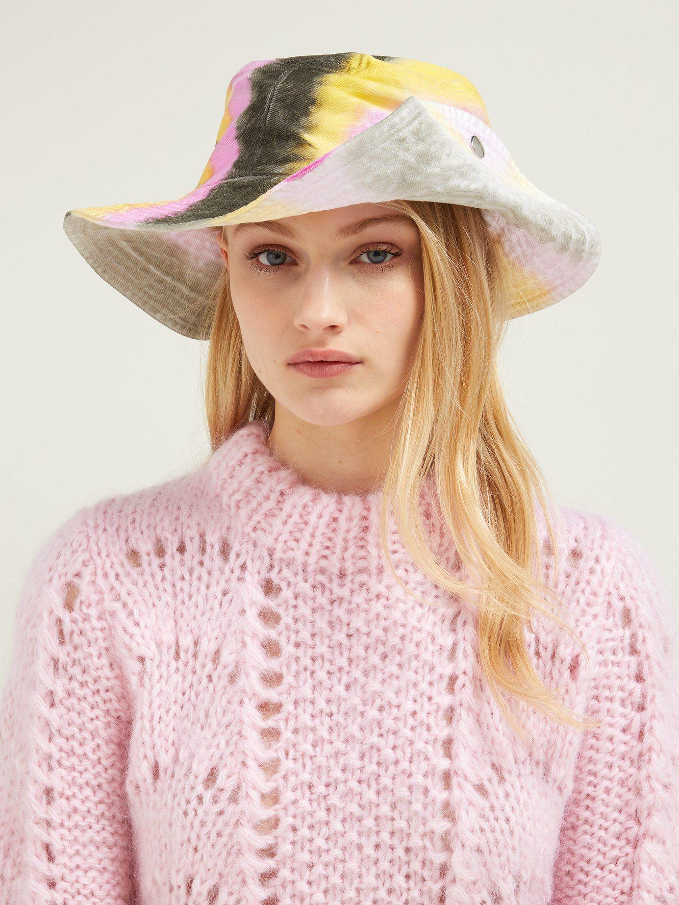 4581abba5 Shiloh tie dye-effect cotton bucket hat in 2019 | HATS | HAIR ...