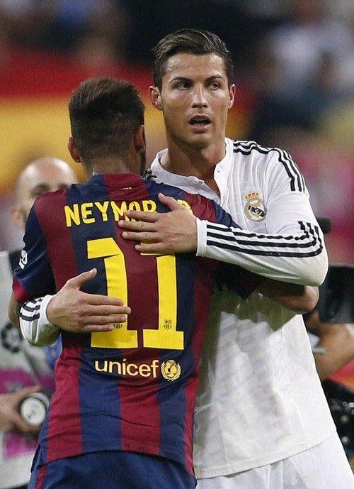 Neymar and Ronaldo <3