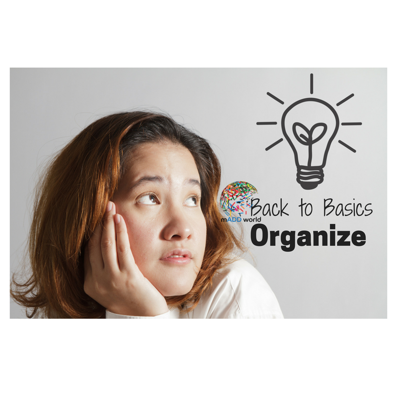 Organize: Back to Basics Mission Four