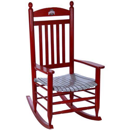 Pin By Pamela Ballard On Lakehouse Rocking Chair Painted Rocking Chairs Wood Rocking Chair