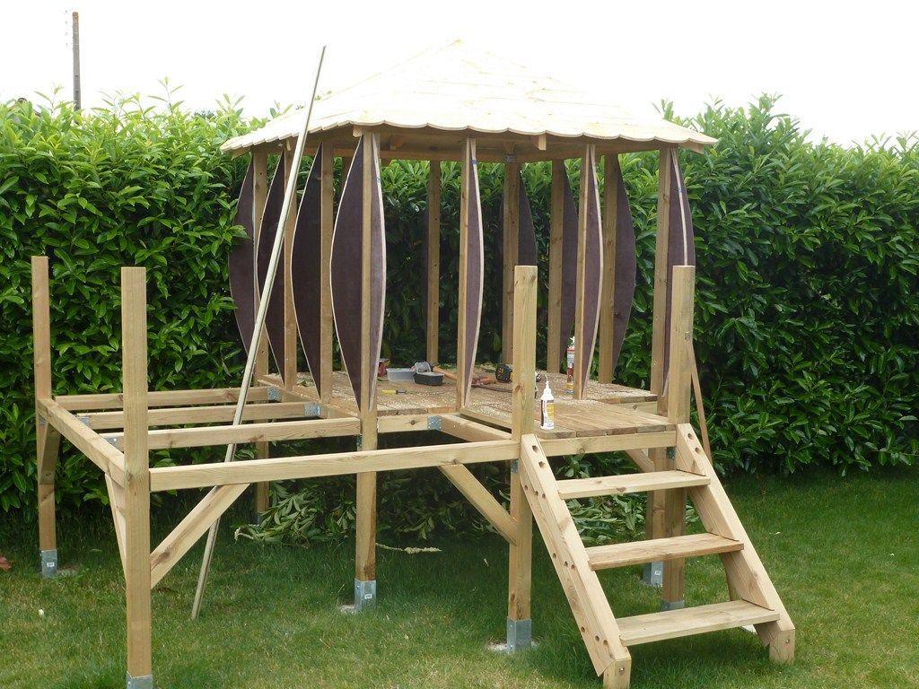 Les Arondis Plan Cabane Enfant Cabane Enfant Cabane Jardin Enfant