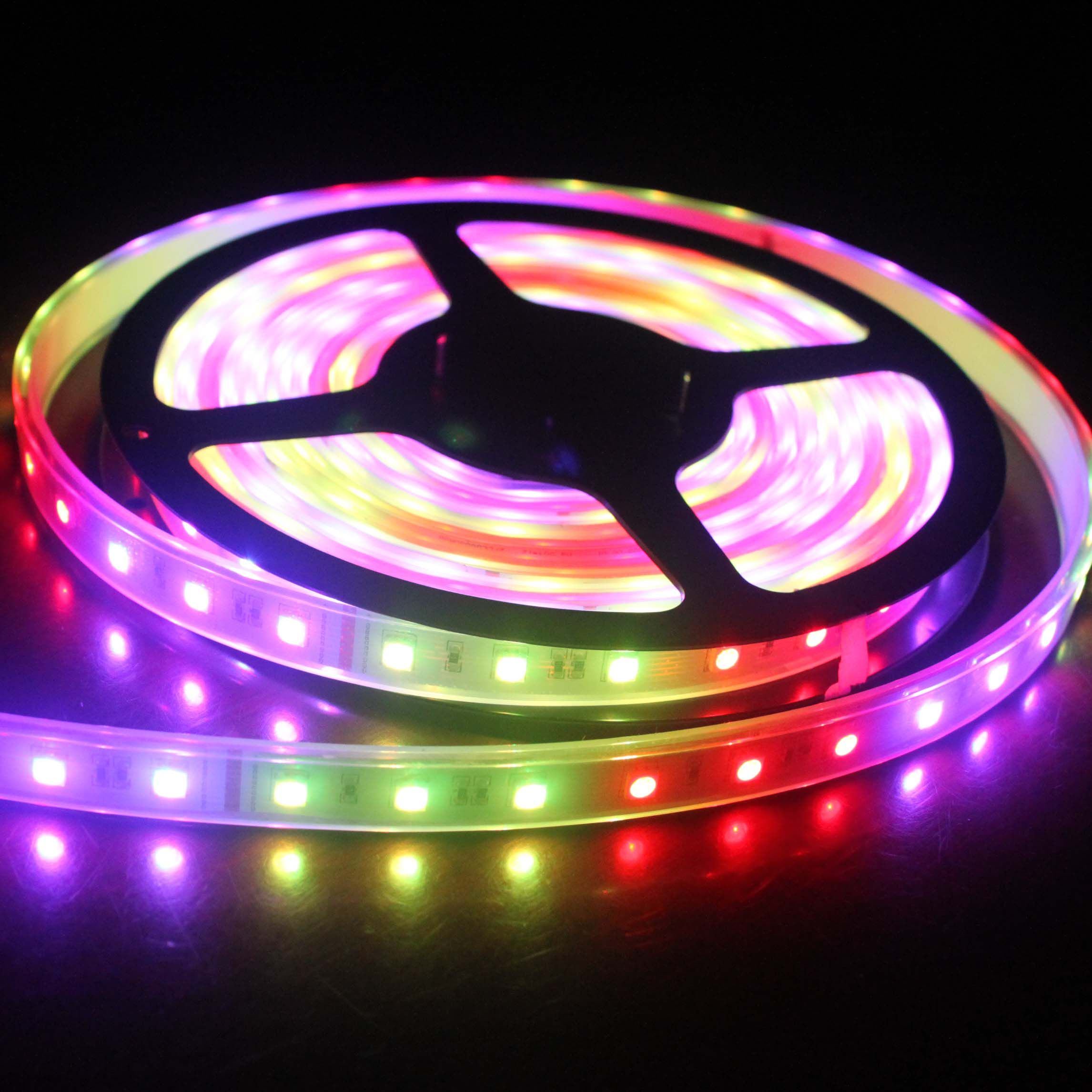 Think to save power by using power saving devices use of rgb led strip lights in most cost economic and efficient manner another type aloadofball Images