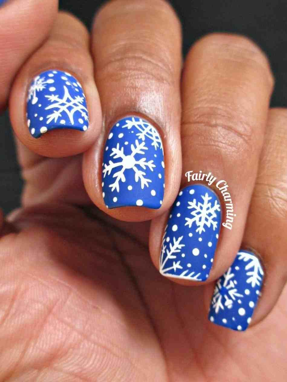 New Post christmas snowflake nail designs - New Post Christmas Snowflake Nail Designs Xmast Pinterest
