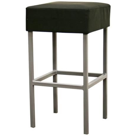 Andante Black Faux Leather Counter Stool -