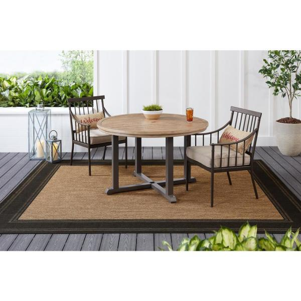 round outdoor dining table