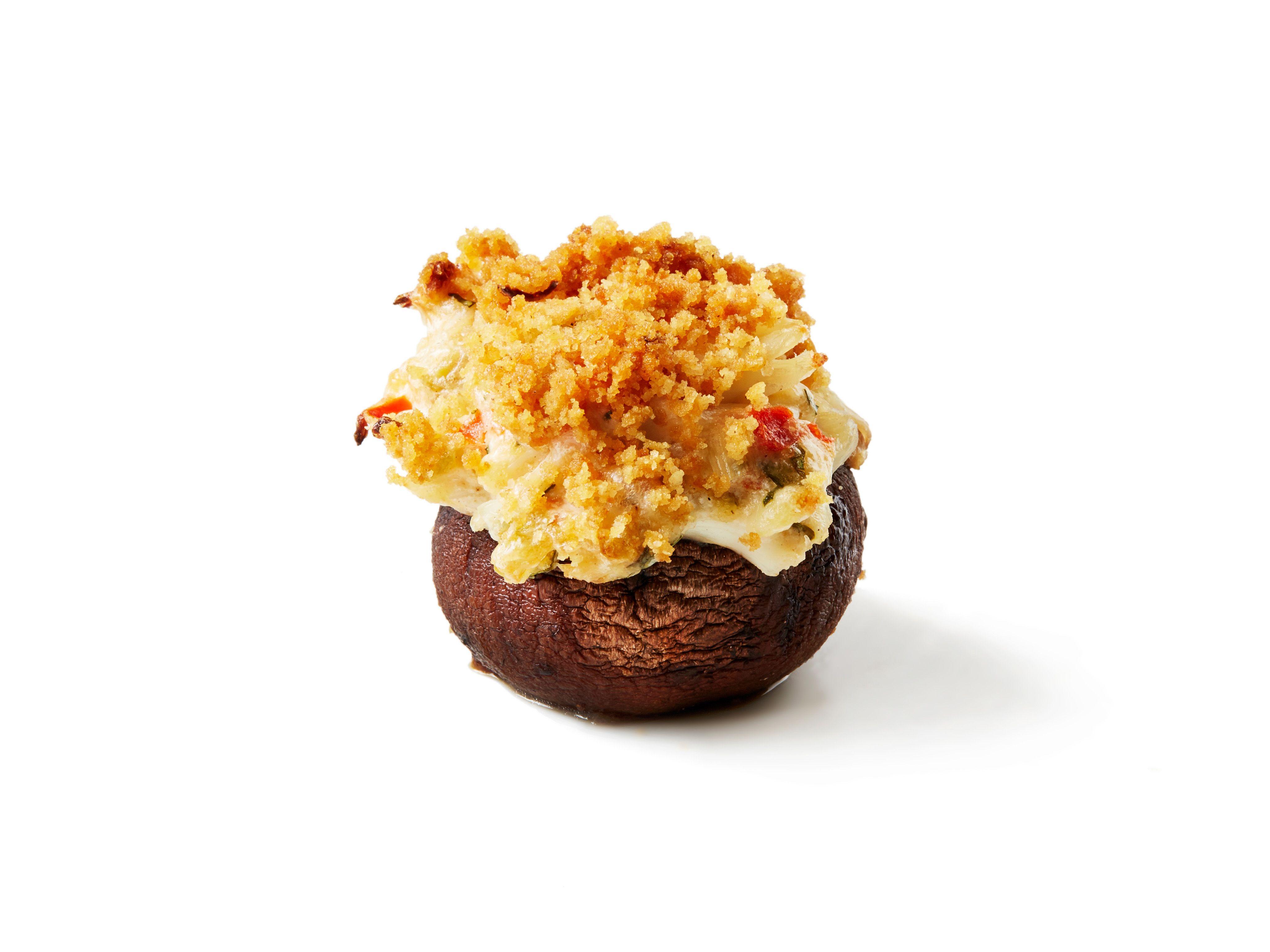 Crispy Crab Stuffed Mushrooms Recipe : Food Network Kitchen : Food ...