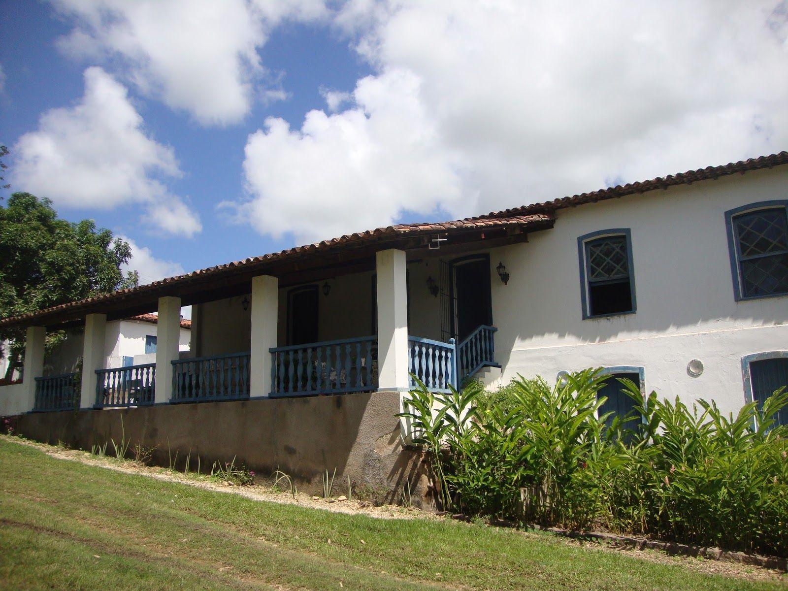 Fundo da Casa Grande do Engenho São Félix Cidade Santa Luzia do Itanhy Background of the Great House of Engenho San Félix  City of Santa Luzia Itanhy