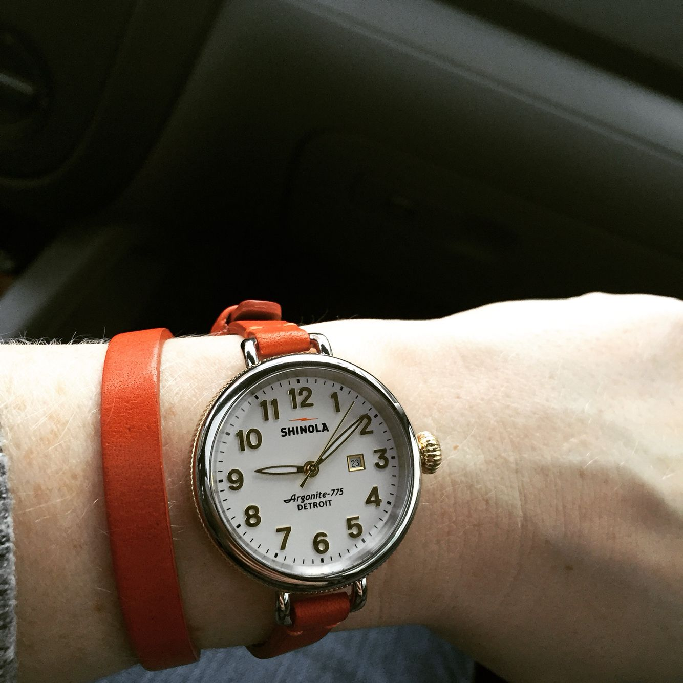 Shinola Birdy watch, High Quality and Made In Detroit!