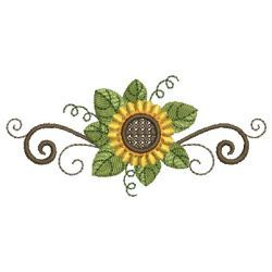 Sunflowers 06 machine embroidery designs