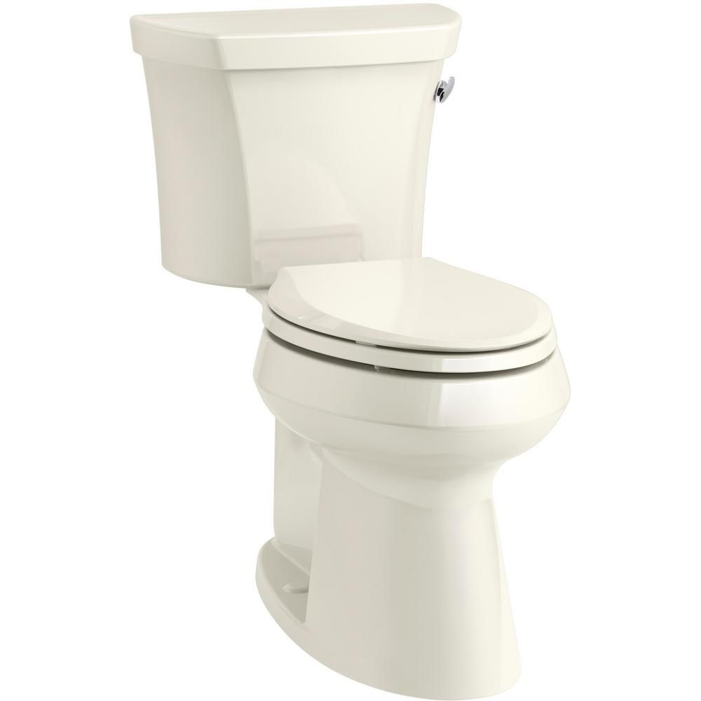 Kohler Highline 2 Piece 1 28 Gpf Single Flush Elongated Toilet In