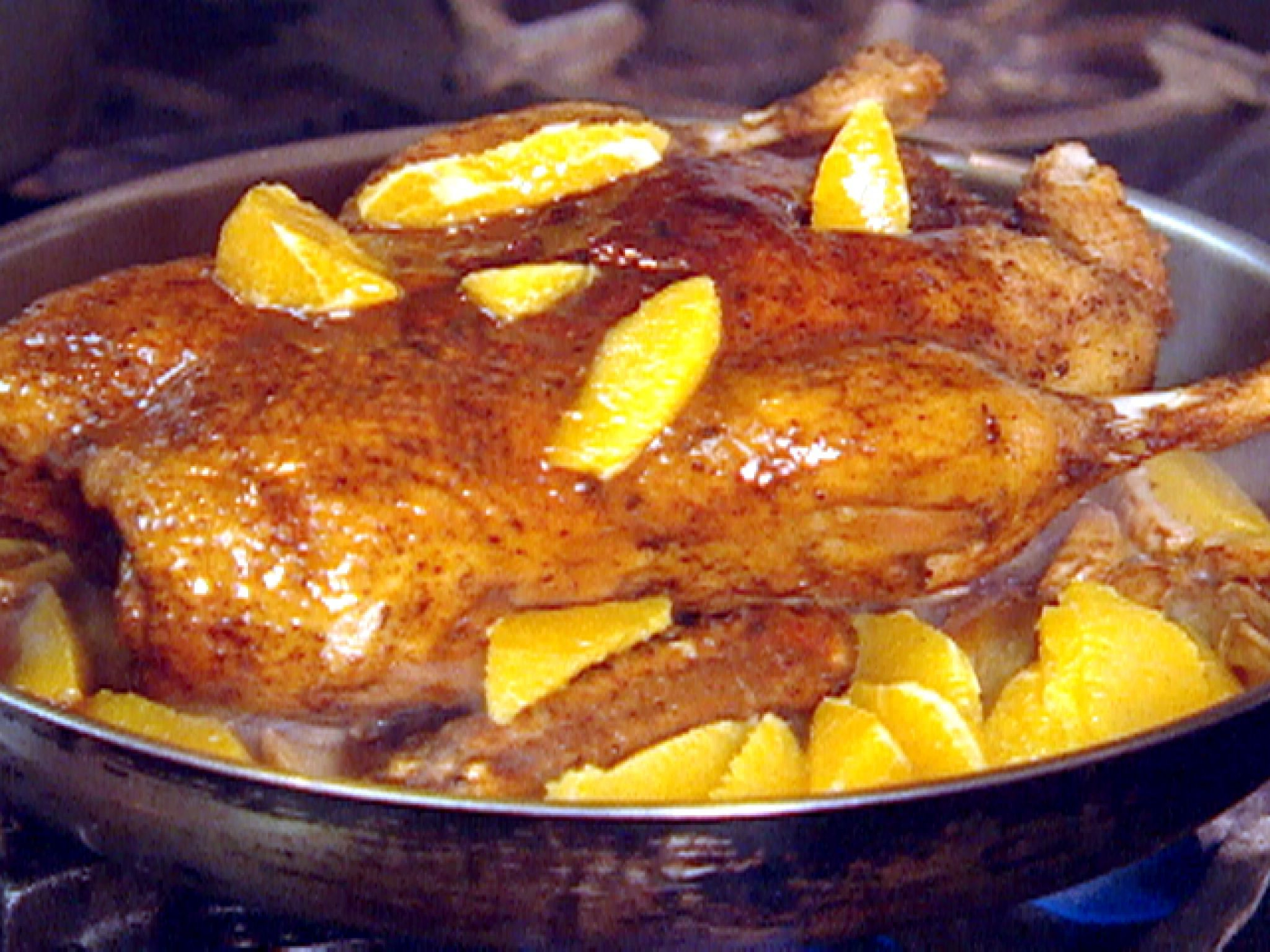 Roasted duck with orange ginger glaze receta forumfinder Images