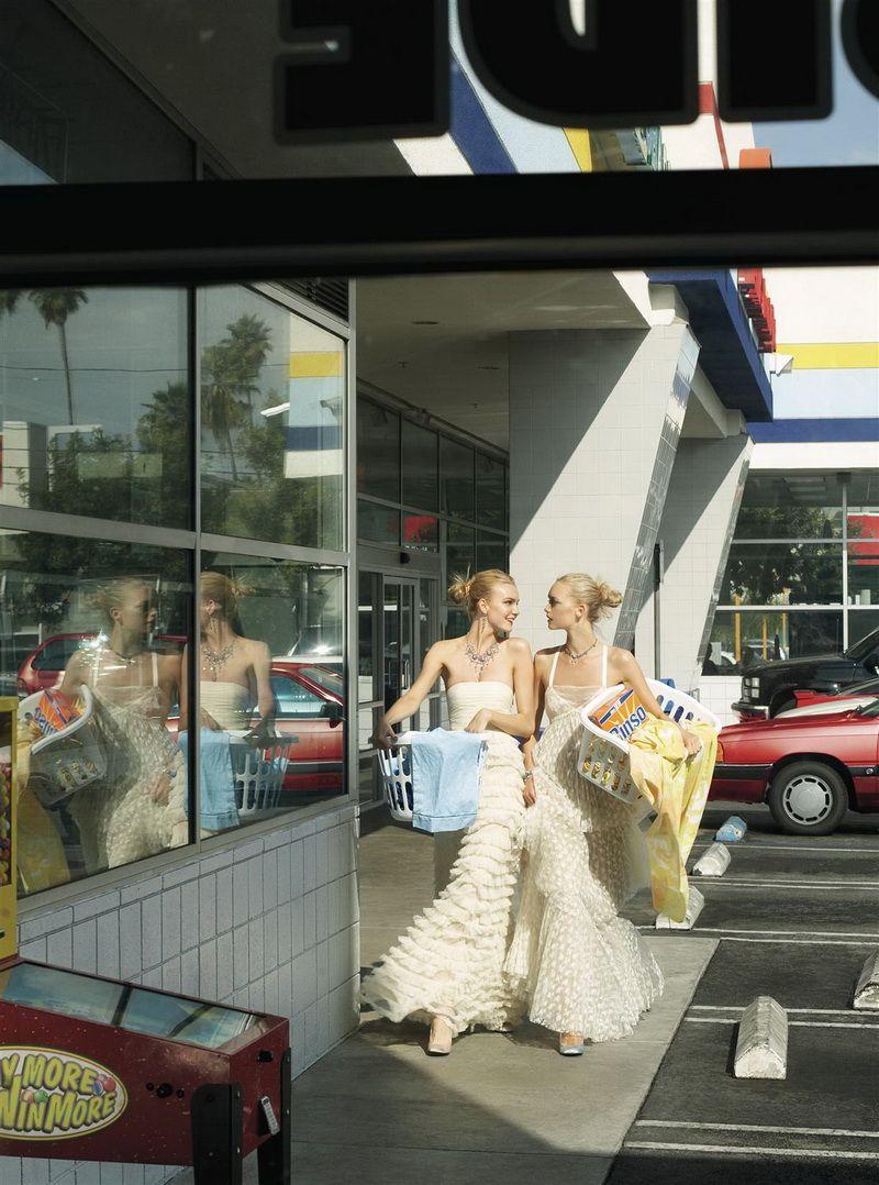 Morning Beauty Pinterest Steven Meisel Laundry And December Vinmori Pinlovearcelik Beyaz White Lily Donaldson Gemma Ward Caroline Trentini By