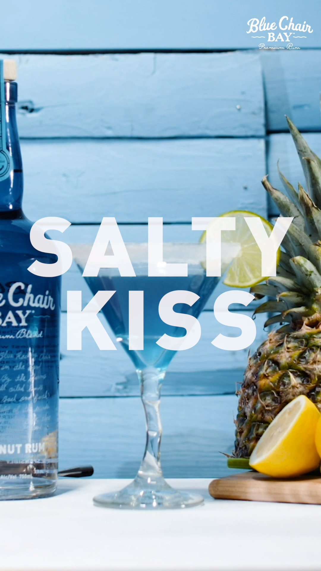 Salty Kiss レシピ【2019】 Coconut Rum Cocktails Cocktail