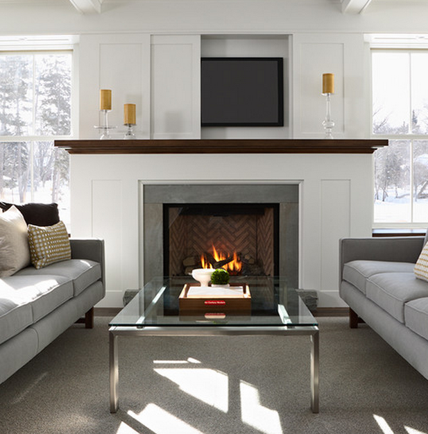 Living Room Decorating Ideas With Fireplace: Living Room Feng Shui Ideas, Tips And Decorating