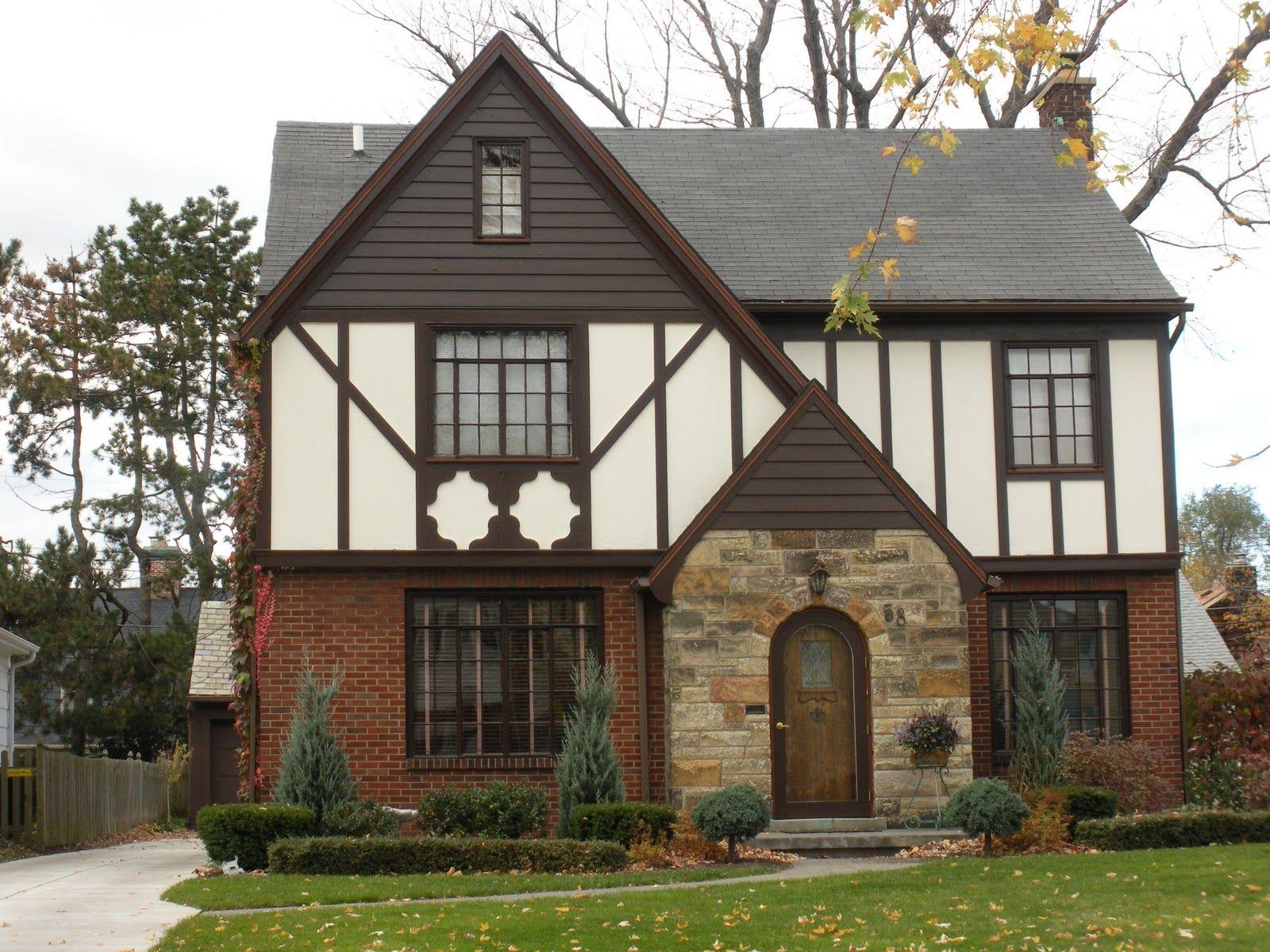 River City Sammon: Tudor Revival Style House Makeover, Part 1 ...