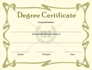 School Certificate Template  Certificate Templates  School