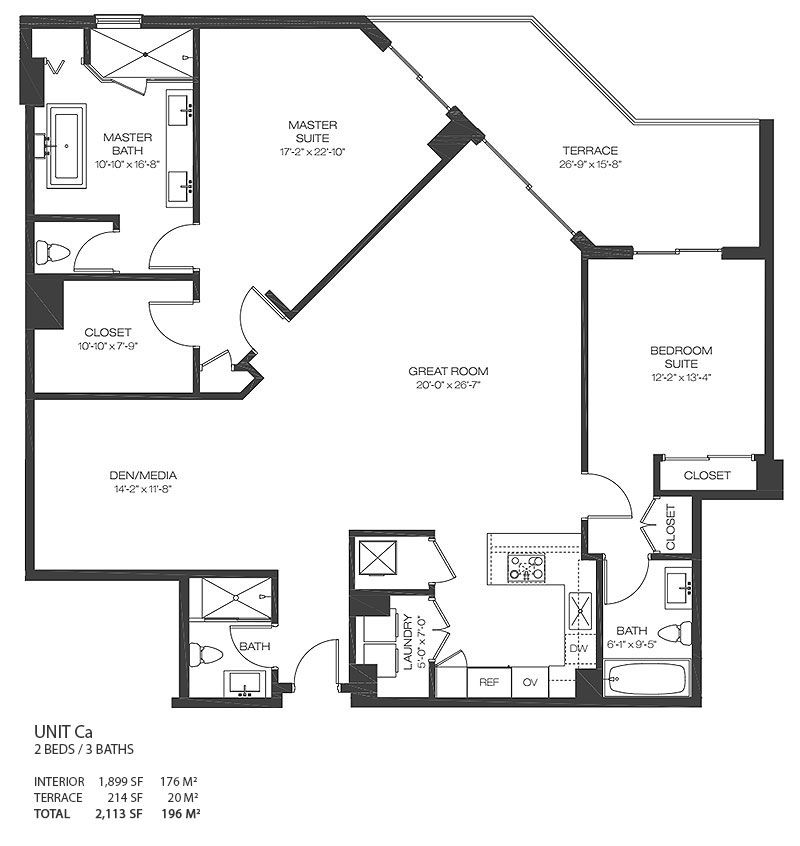 Luxury Condo Floor Plans Luxury Condos Choose A