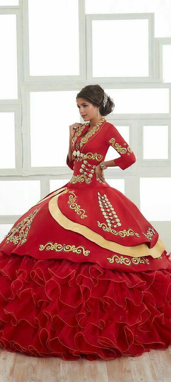 Xv Años Vestidos De Quinceañera Mexicana Vestidos Charros