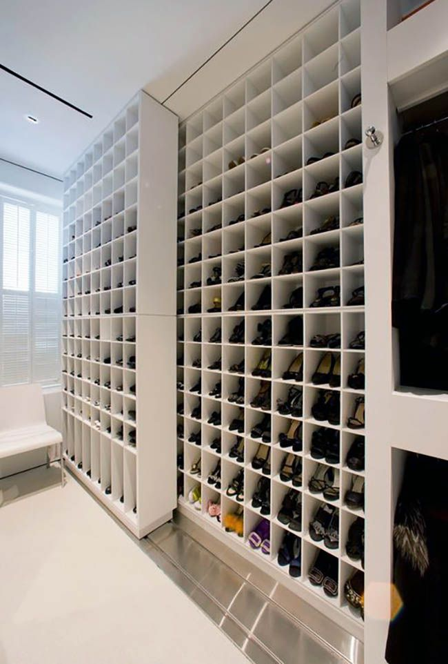 Closet Shoe Storage Ideas (Racks & Shelving Designs)