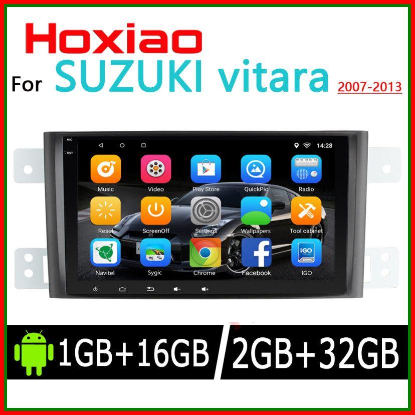 Sale 2 Din Car Android For Suzuki Grand Vitara 2005 2013 Gps