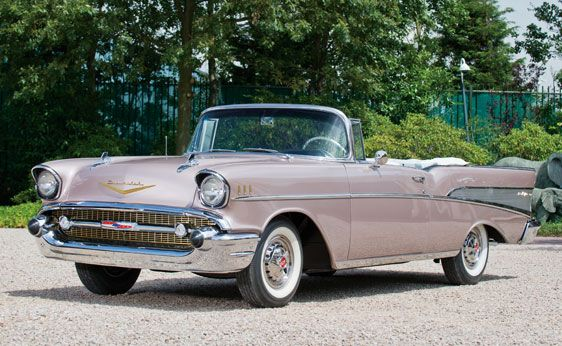 57 Chevy Bel Air Soft Top And Its Pink My Parents Had One Of