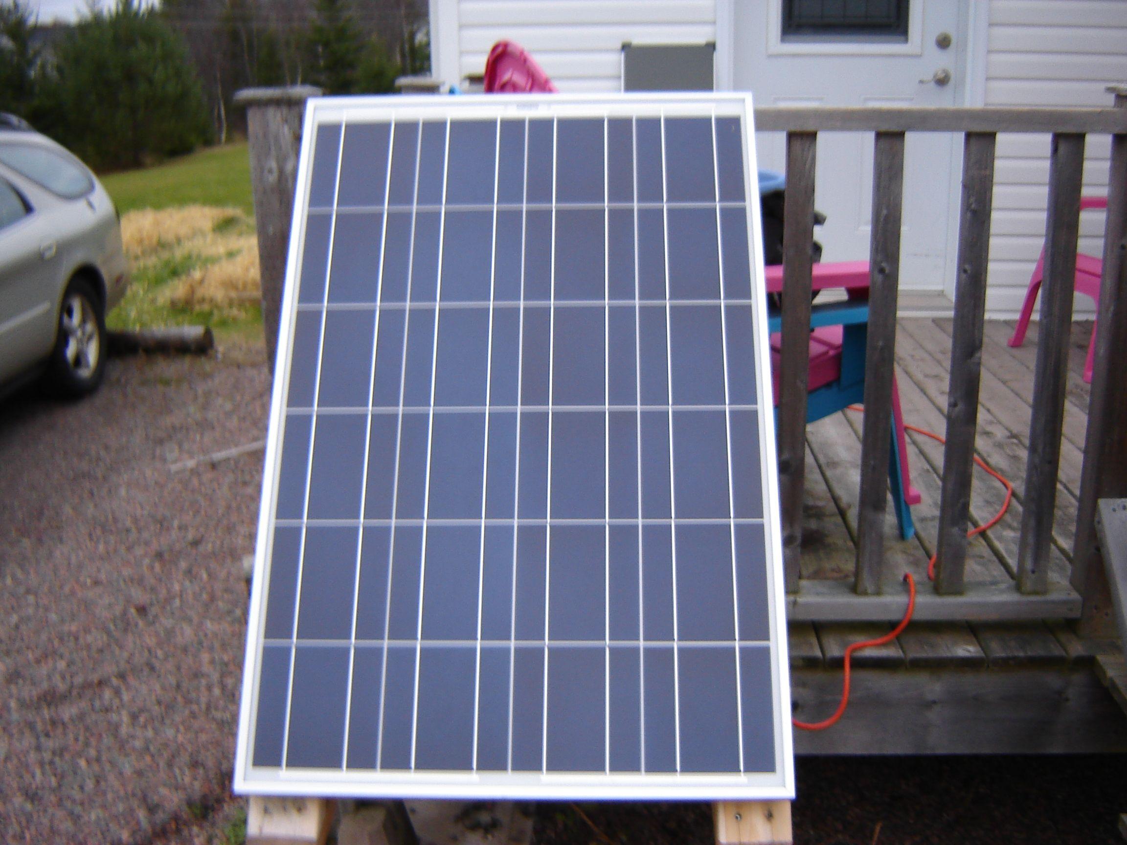 This 100 Watt Green Planet Solar Panel Has Been Running My