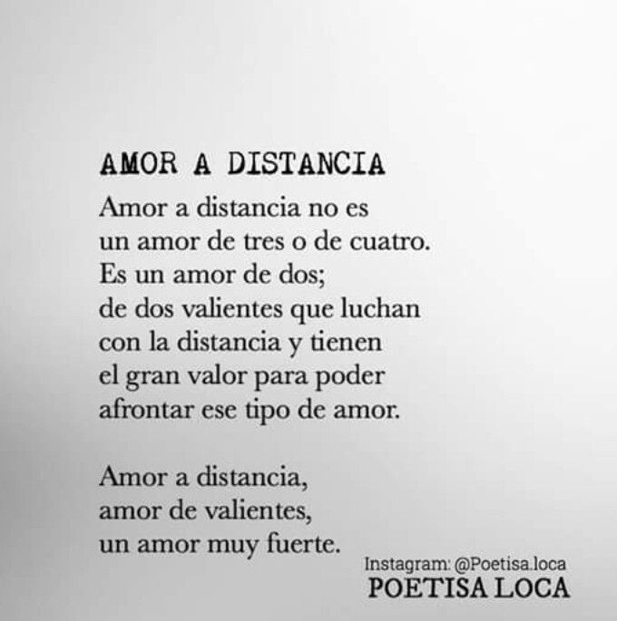 Amor A Distancia Words Pinterest