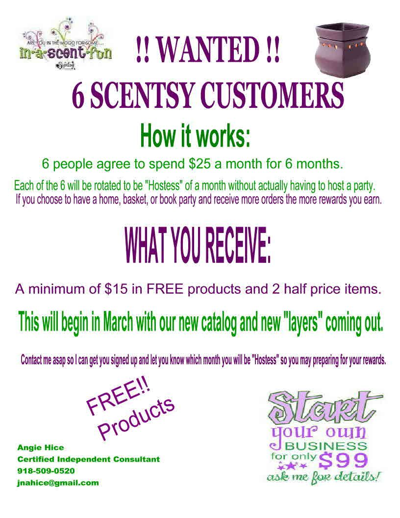 Rewards for hosting ideas | Scentsy Consultant, Christy Lipscomb ...