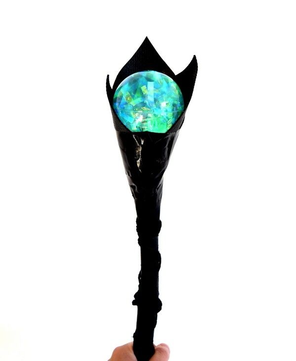 Diy Maleficent Staff Crafts For Kids Maleficent
